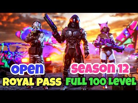 Open Full 100 Level Royal Pass Season 12 - Spending 30,000 Uc For New Crate | Pubg Mobile