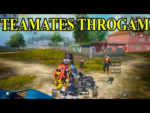 Teamates Throgam || 90's Gamer Killed PassionOfGaming ( SRB Zeus ) || Pubg Mobile