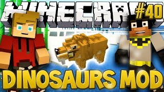 """Sabre-Toothed Tigers!"" Minecraft Dinosaurs Mod (Fossils and Archaeology) Series, Episode 40"