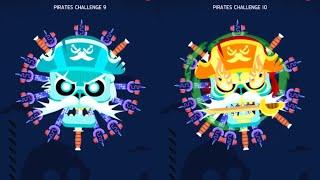 Pirate Skull - Knife Hit Challenge (1-10)