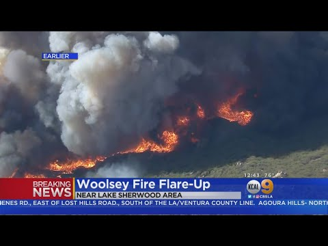 Crews Getting Handle On Woolsey Fire Flare-Up Near Lake Sherwood