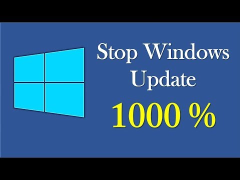 Disable windows 10 auto update forever