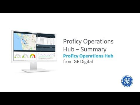 Proficy Operations Hub Overview