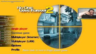 Zulin stream 08.07.2017 (NO MUSIC) No One Lives Forever 2: A Spy in H A R M 's Way