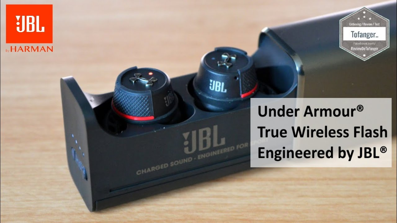 Download JBL Under Armour® True Wireless Flash – Engineered by JBL® - TWS Earbuds Bluetooth - Déballage