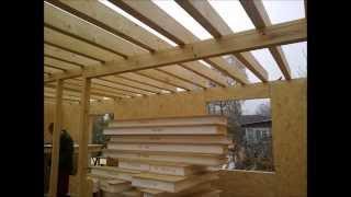 Каркасно панельный дом видео со стройки(, 2014-12-04T19:21:33.000Z)