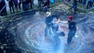Straßenkrieger Streetfighter Burnout Burn Battle Donnerkuppel Ludwigslust 16.06.2012