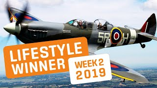 BOTB Lifestyle Competition! Sherry Wright - Fly A Spitfire Experience - Week 2 2019