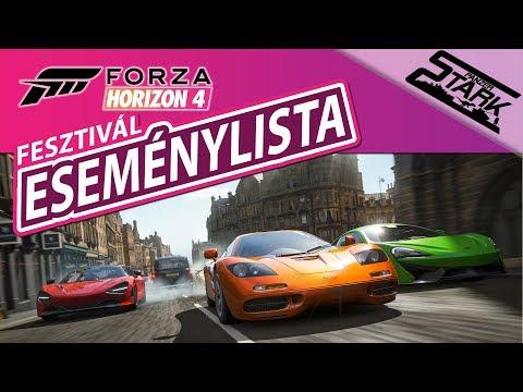 Forza Horizon 4 - Fesztivál Eseménylista bemutató - Stark thumbnail