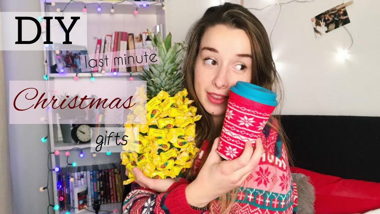 DIY Last Minute Christmas Gifts | Sylwia Lipka - YouTube