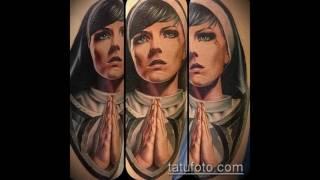 Значение тату «Монашка» - примеры крутых татуировок на фото (видео)