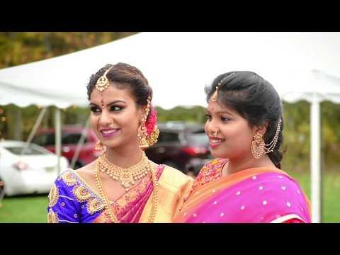 Sankeerth Mounica Housewarming Gruhapravesam Ceremony Teaser Highlights Manam Events Boston USA