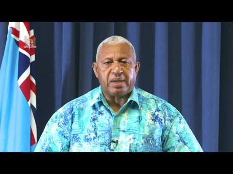 Fijian Prime Minister Sets Out COP23 Priorities