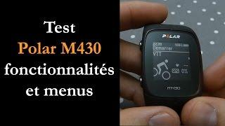 Test Polar M430