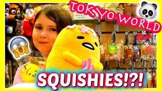YAY! Squishies & KPOP in TOKYO WORLD ~ Shopping Mall Vlog | Sedona Fun Kids TV