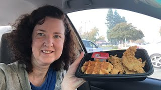 KFC Chicken & Waffles Live Review!@