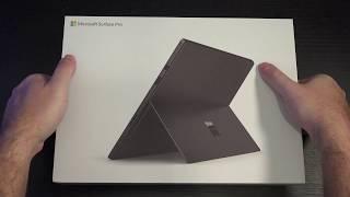 Microsoft Surface Pro 6 Unboxing