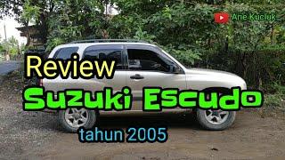 Suzuki Escudo tahun 2005 Review