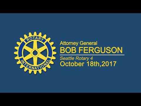 Rotary Luncheon 10-18-17 Bob Ferguson