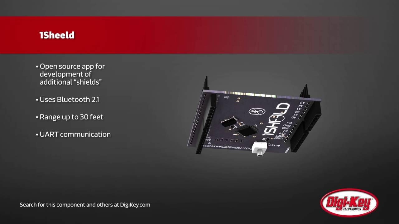 Seeed Studio 1Sheeld Arduino Shield | Digi-Key Daily