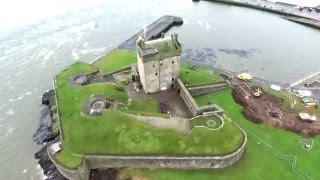 Broughty Ferry Castle (Dundee, Scotland) - DJI Phantom 3 Drone Flight