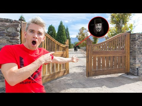 WE BROKE INTO THE GAME MASTER TOP SECRET HAUNTED ABANDONED PLAYHOUSE with MYSTERY SPY CLUES INSIDE!!