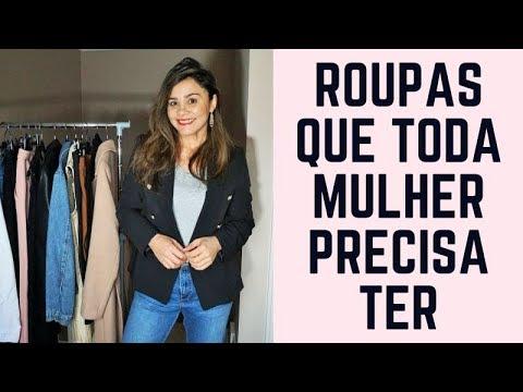 be8811e7c 14 PEÇAS ESSENCIAIS NO GUARDA ROUPA FEMININO - YouTube