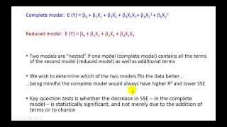 Partial F-test in Regression Analysis - Pat Obi