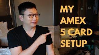 My Amex 5 Card Strategy (Hotel Keeper Cards)