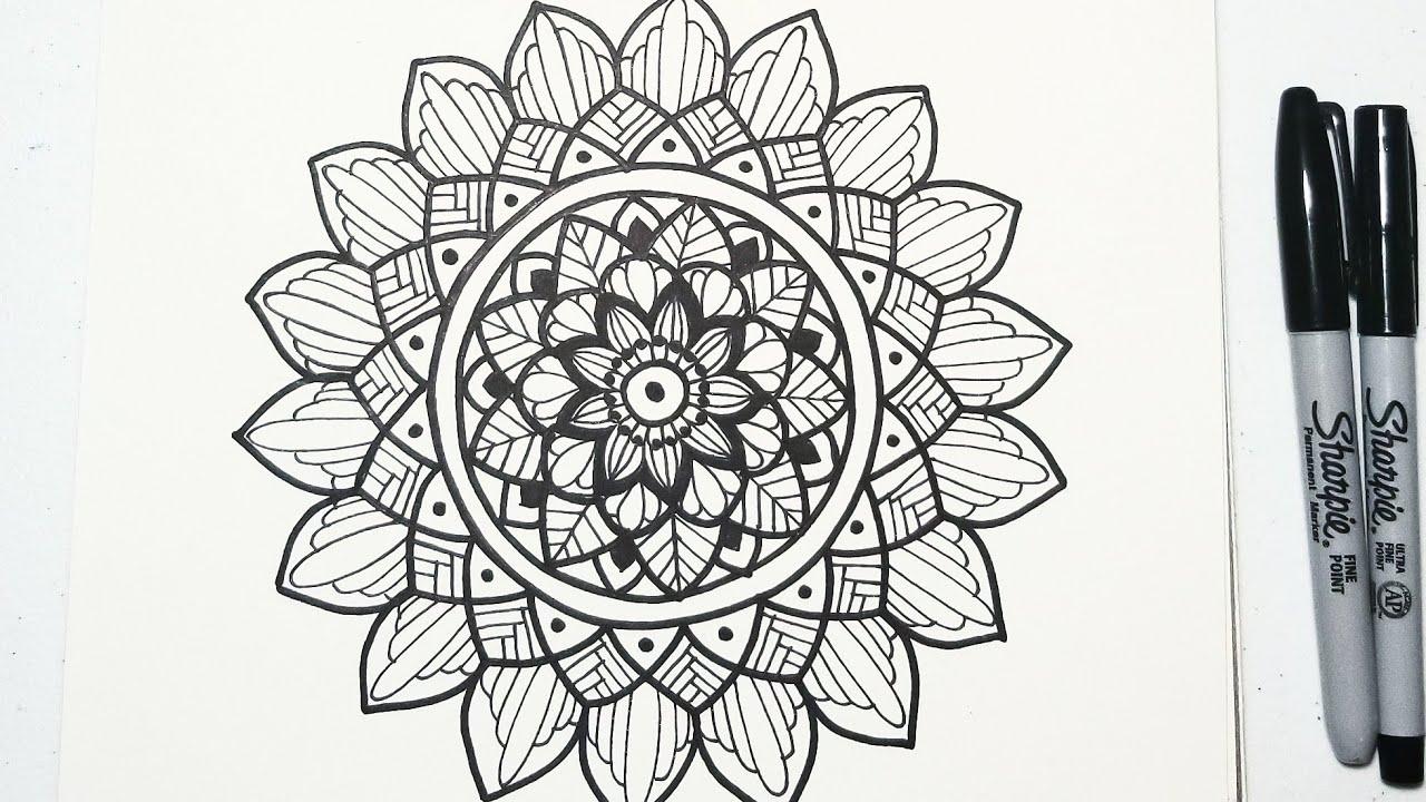 Como hacer mandalas Mandala basica consejos y nuevas ideas how