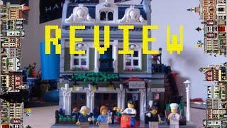 Lego Creator - Parisian Restaurant 10243 - 2014 Modular Building Review