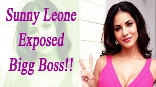 Video Bigg Boss 10: Sunny Leone EXPOSED Big Boss, says show is SCRIPTED | FilmiBeat download MP3, 3GP, MP4, WEBM, AVI, FLV Mei 2018