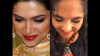 Deepika Padukone Inspired Makeup