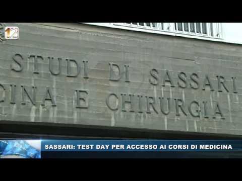 SASSARI, TEST DAY PER ACCESSO AI CORSI DI MEDICINA