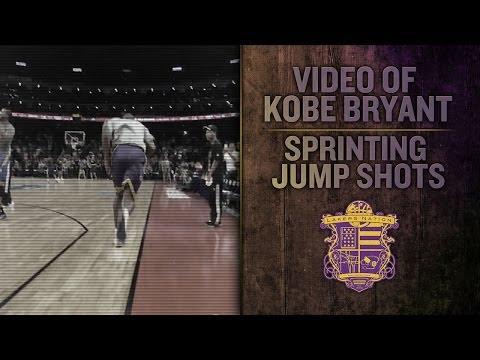 Kobe Injury News: Kobe Sprints And Shoots Jump Shots Before Lakers Game In China