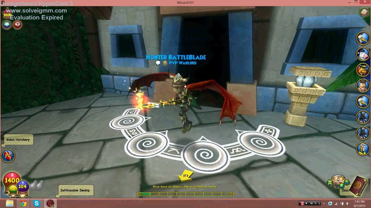 Wizard101 Leveling up GLITCH! Works 100% Level Quick
