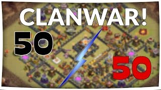 Großer Clankrieg || CLASH OF CLANS || Let's Play CoC [Deutsch/German]
