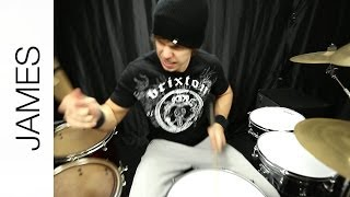 """B.Y.O.B."" - System of a Down (Drum Cover) by James"