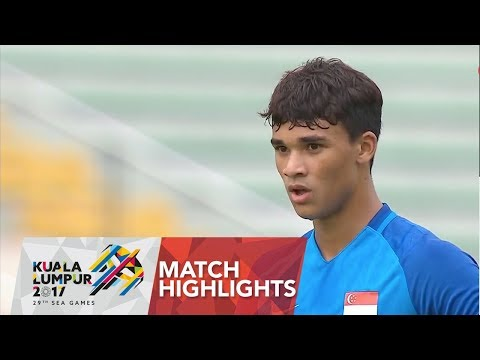 Football ⚽ match highlights: Laos 🇱🇦 vs Singapore 🇸🇬  | 29th SEA Games
