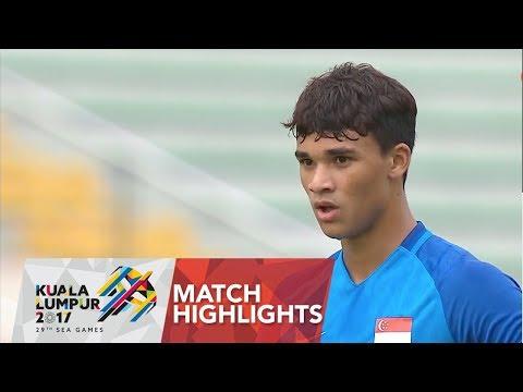 Football ⚽ Match Highlights: Laos 🇱🇦 Vs Singapore 🇸🇬  | 29th SEA Games