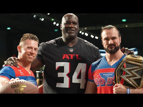 """Drew McIntyre and The Miz bring good times to the """"SHAQ Bowl"""""""