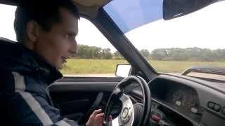 Тест драйв ВАЗ 2114 (первый раз за рулем)