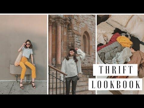 Thrift Haul Lookbook
