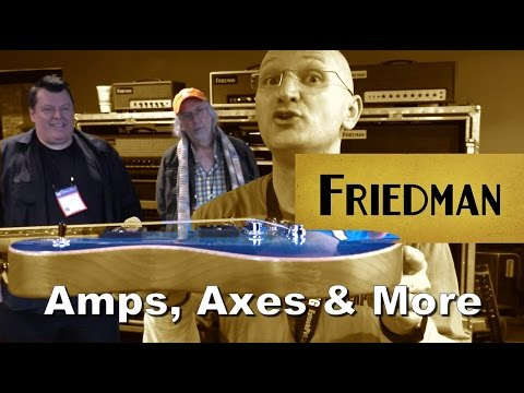 Friedman at NAMM 2017 - With David Friedman and Grover Jackson