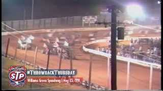 #ThrowbackThursday: World of Outlaws Sprint Cars May 23 & 24, 1991 Williams Grove Speedway