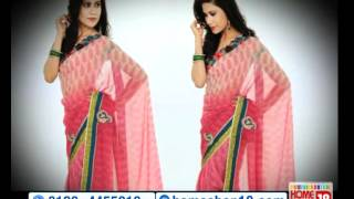 HomeShop18.com - Special Summer Designer Saree by HIBA
