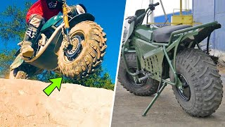10 MOST UNUSUAL INVENTIONS | FAT TYRE BIKE | YOU MUST SEE