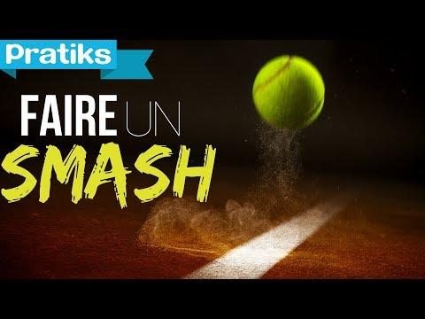 comment faire le smash au tennis sport