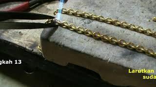 cara kalung rantai 75 gram = 30 emas