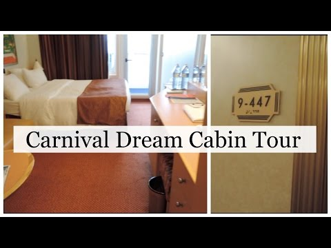 Carnival Dream Balcony Cabin #9447